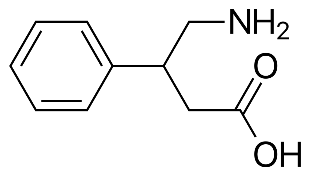 PHENIBUT CHEMICAL STRUCTURE